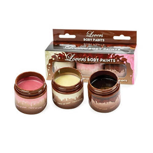 Lovers Chocolate Body Paints 3 Pack