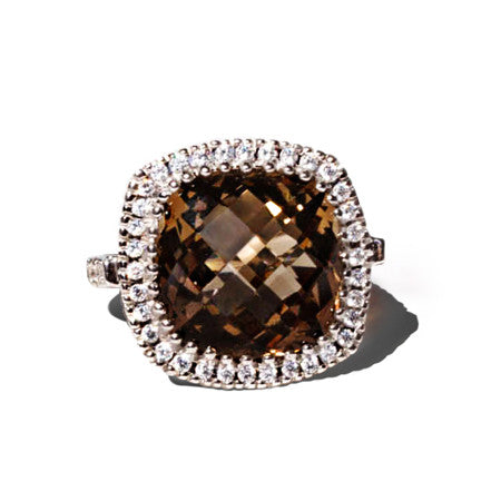 Smoky Quartz Celebrations Ring