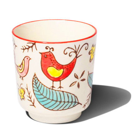 Bird Pattern Cup Set
