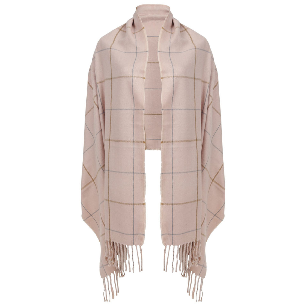 East Village Petra Scarf -  pink
