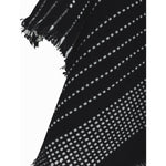 Load image into Gallery viewer, East Village Jordan Georgia Scarf - black