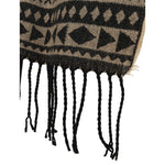Load image into Gallery viewer, East Village Brooklyn Scarf - aztec black & ivory