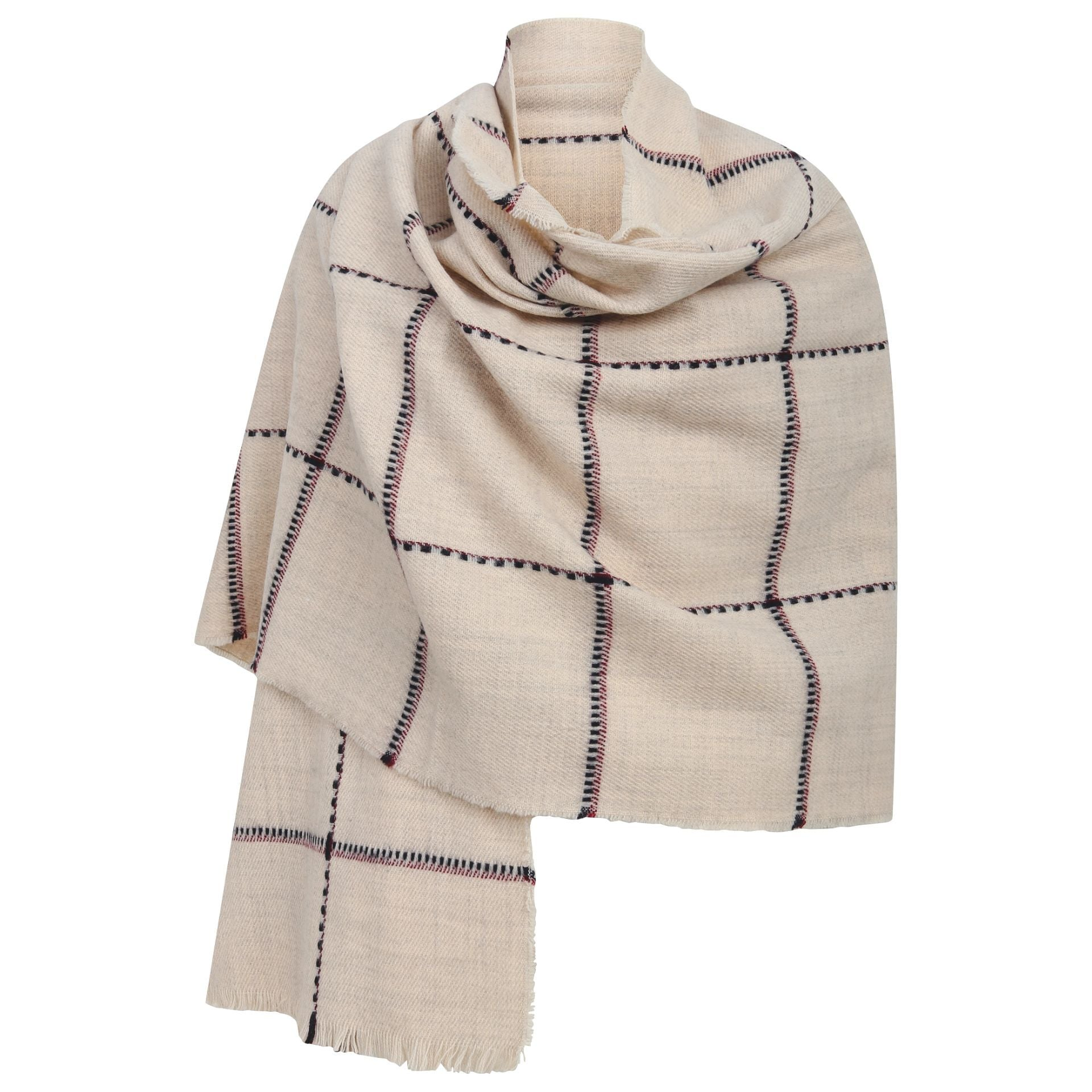 East Village Madison Scarf - ivory