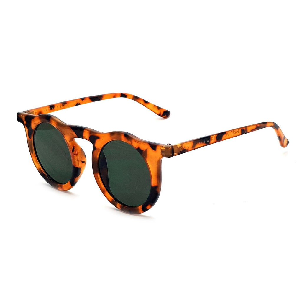 East Village Haymaker Round Sunglasses Honey With G15 Lens