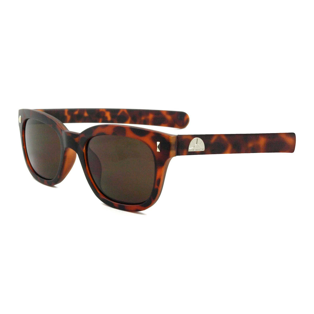 East Village Plastic Pacino Sunglasses In Tortoiseshell