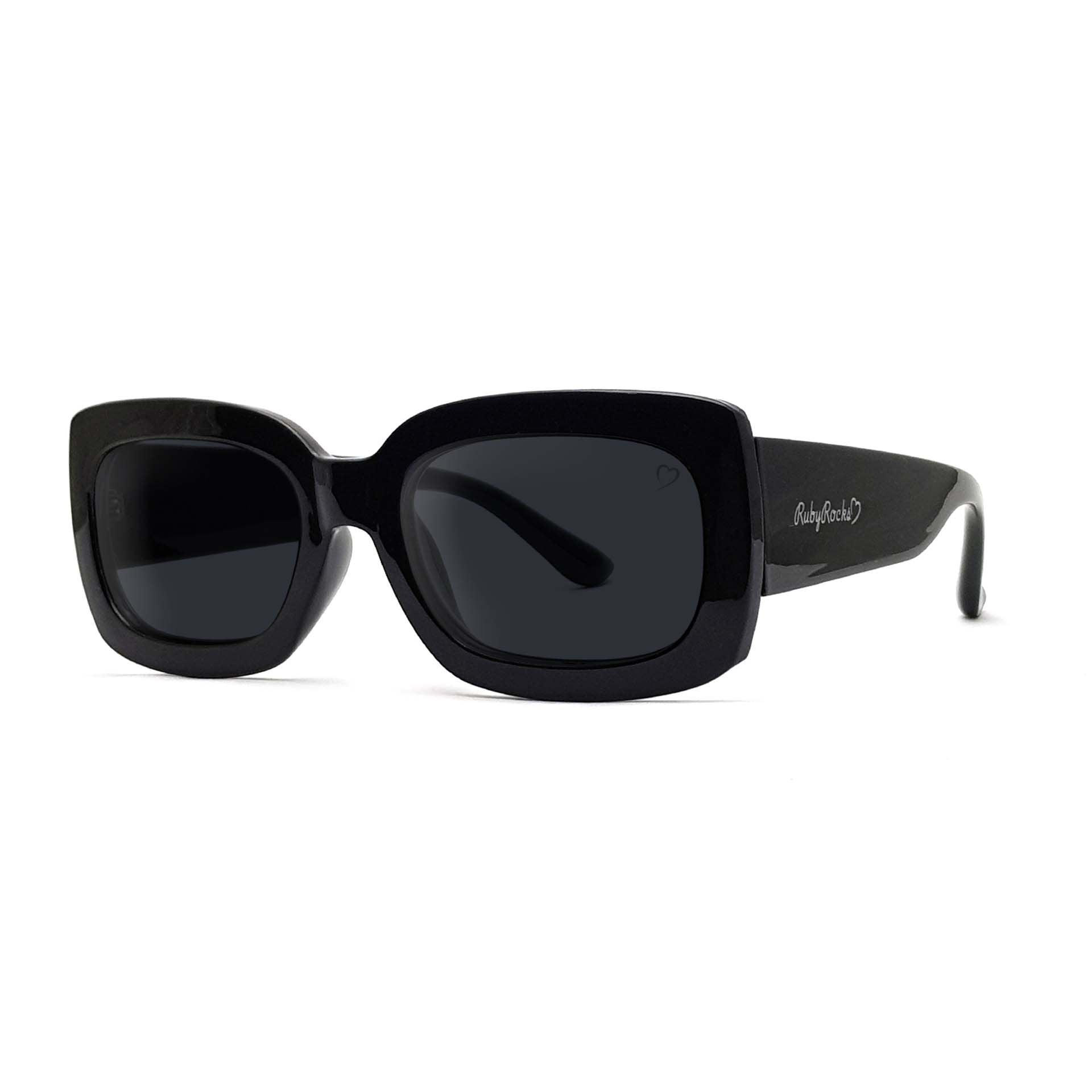 'Laura Abby' Sunglasses In Black