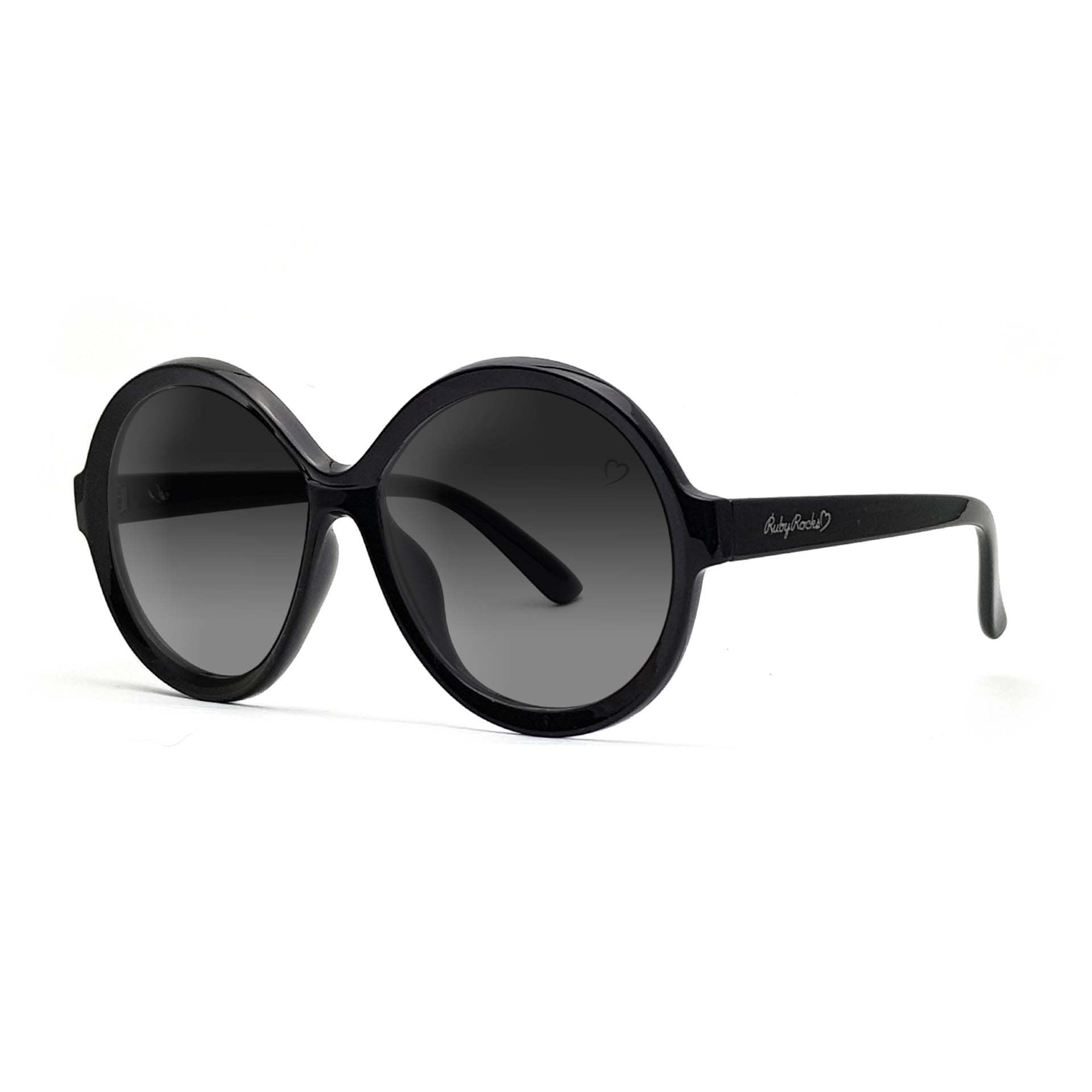 'Jessica Elsie' Round In Black