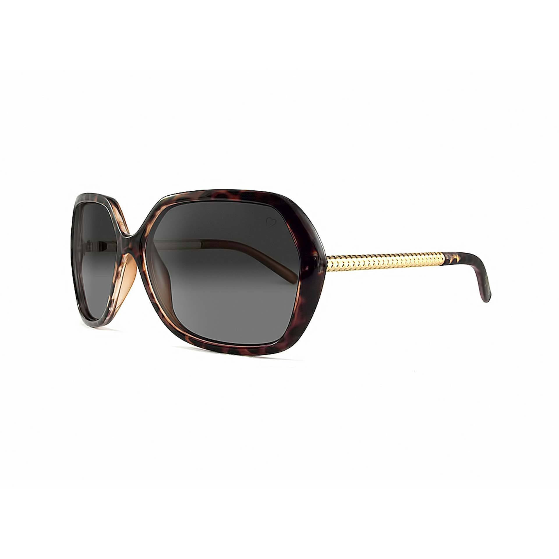 Ladies 'Paris' Oversized Sunglasses In Tortoiseshell