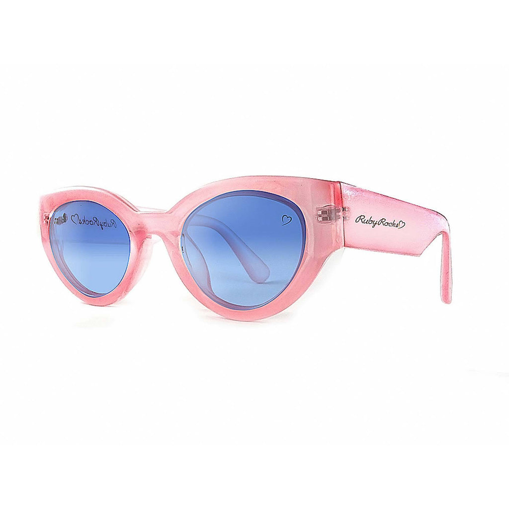 Ruby Rocks Chunky Zante Cateye in Pink
