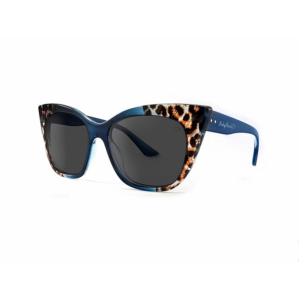 Ruby Rocks Animal Tip Gozo Cateye in Blue