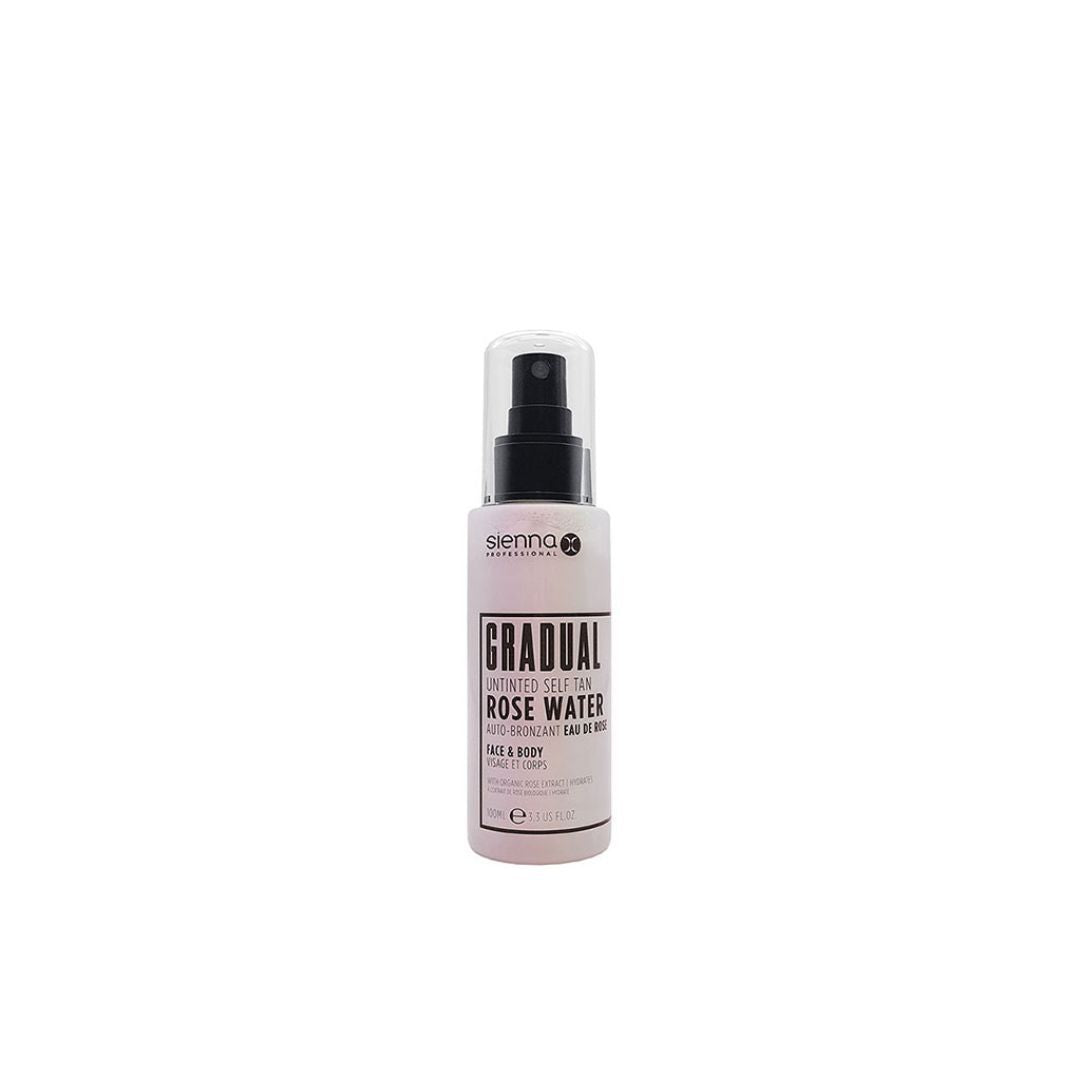 Sienna X Gradual Rose Water Self Tan Mist