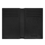 Load image into Gallery viewer, Trent - Black Leather Bifold Wallet