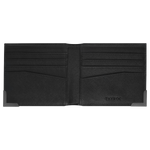 Load image into Gallery viewer, Clyde - Black Leather Bifold Wallet
