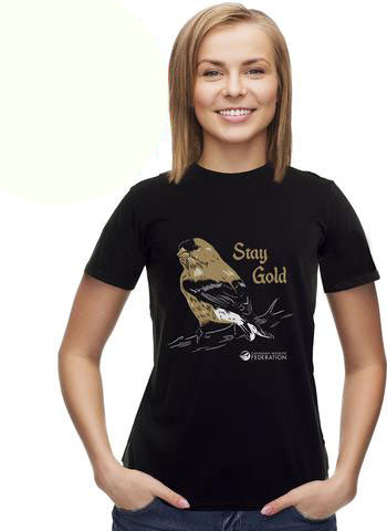 'Stay Gold' T-shirt - Ladies|T-shirt « Stay Gold » - Femme
