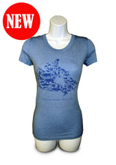 WILD Migrations T- shirt - Ladies|T- shirt Migrations fauniques  – Femme