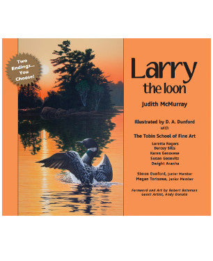 'Larry the Loon' Children's book|Livre pour enfants « Larry the Loon »