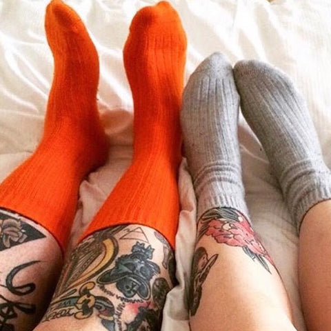 MM cashmere socks - his and hers