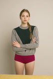 Intarsia V Sweater - 2 colours