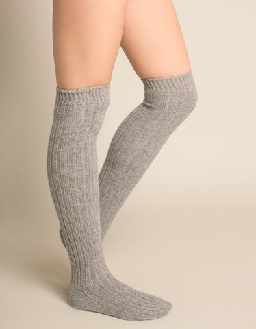 Long Cashmere Socks - 8 colours