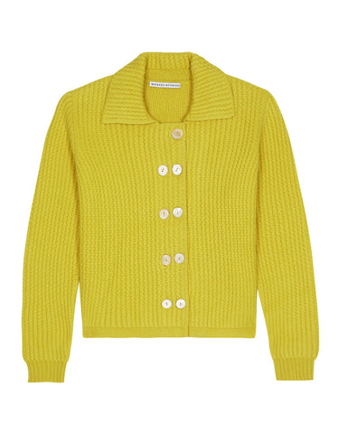 NEW - Jag-Stitch Cashmere Cardigan