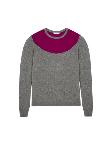 Intarsia Ruff Sweater - 2 colours