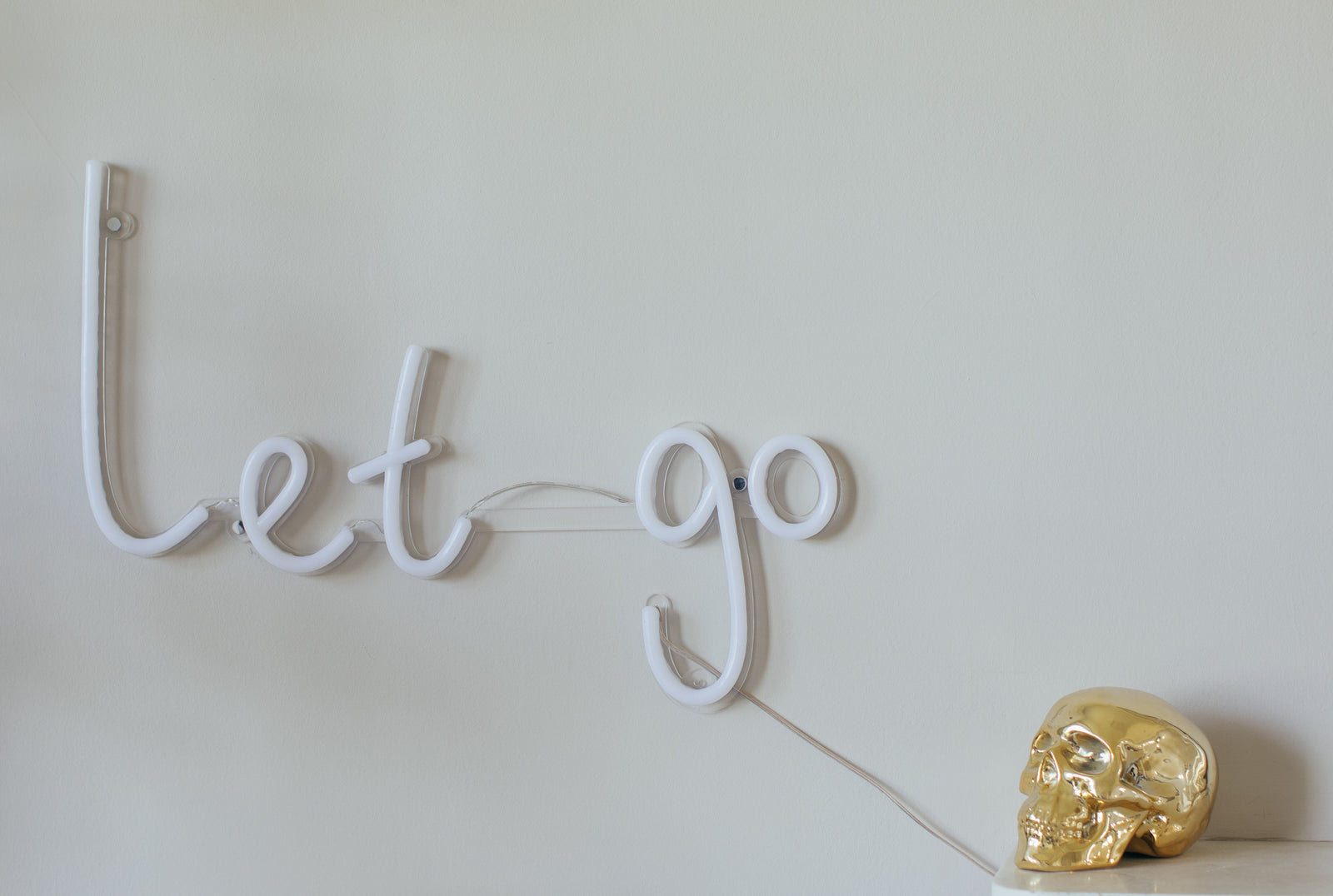 'let go' light