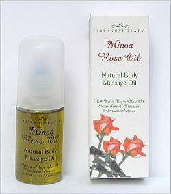 Rose Natural Body Massage Oil