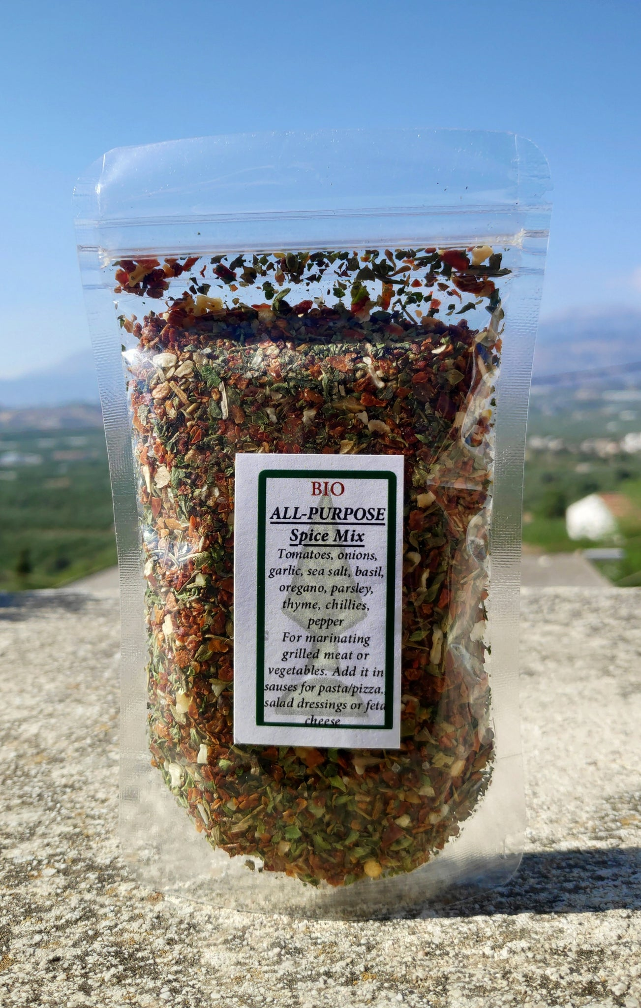 "BIO ""All Purpose"" Spice Mix (50gr)"