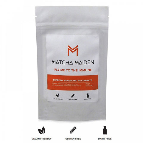 Matcha Meiden mix. FLY ME TO THE IMMUNE (Ενίσχυση του Ανοσοποιητικού)
