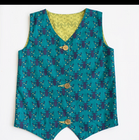 Oh Deer Reversible Boy Vest