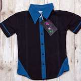 GABLE Blue and black shirt SALE