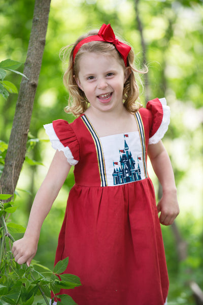 Princess Castle Dress- FINAL SALE