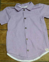 Boy linen shirt (Pinafore match)
