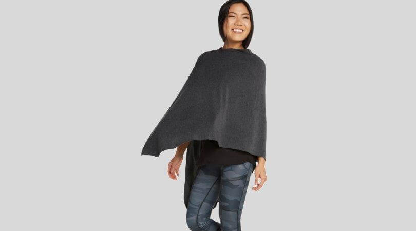 Poncho Hacci Fleece | South American Style | SQN Sport