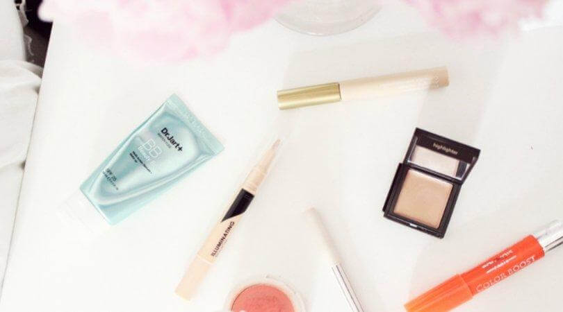 MINIMAL MAKE UP:  6 Products