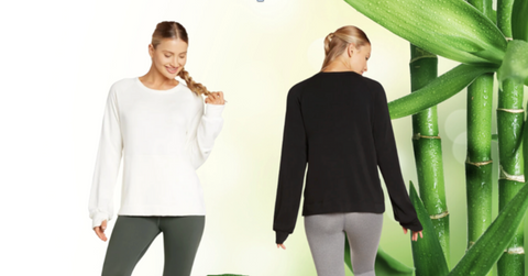 Sweatshirts Made From Bamboo Fleece