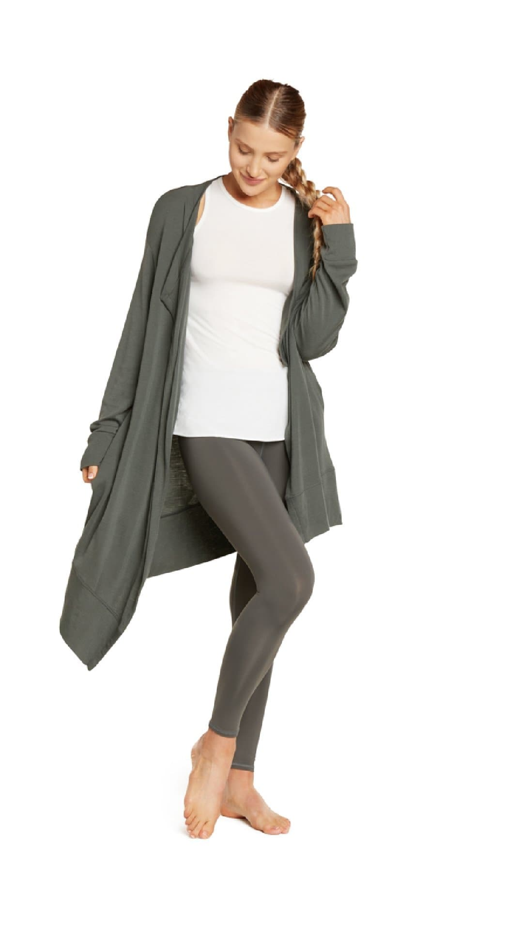 Sweater: Asymmetrical Wrap - SQN Sport