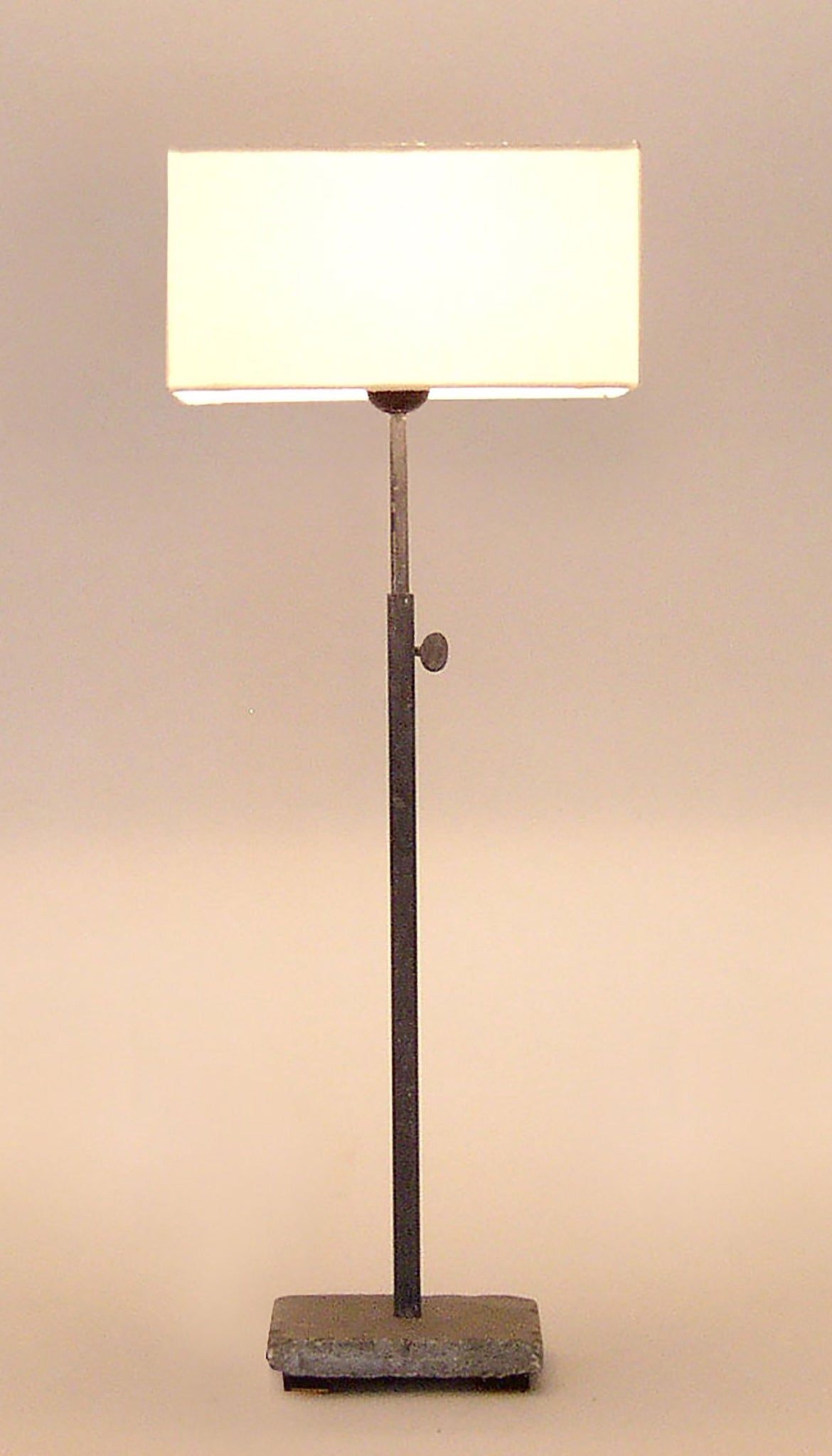 Hardstone Base Table Lamp (With Shade)