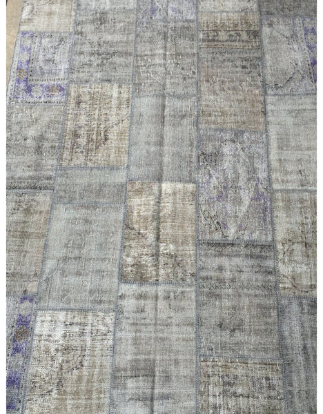 "Patchwork Rug - 113 (6ft 6.74"" x 9ft 10.11"")"