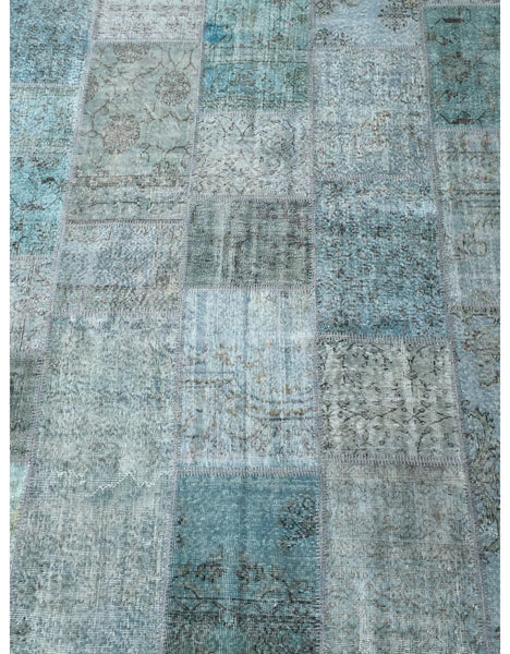 "Patchwork Rug - 127 (6ft 6.74"" x 9ft 10.11"")"