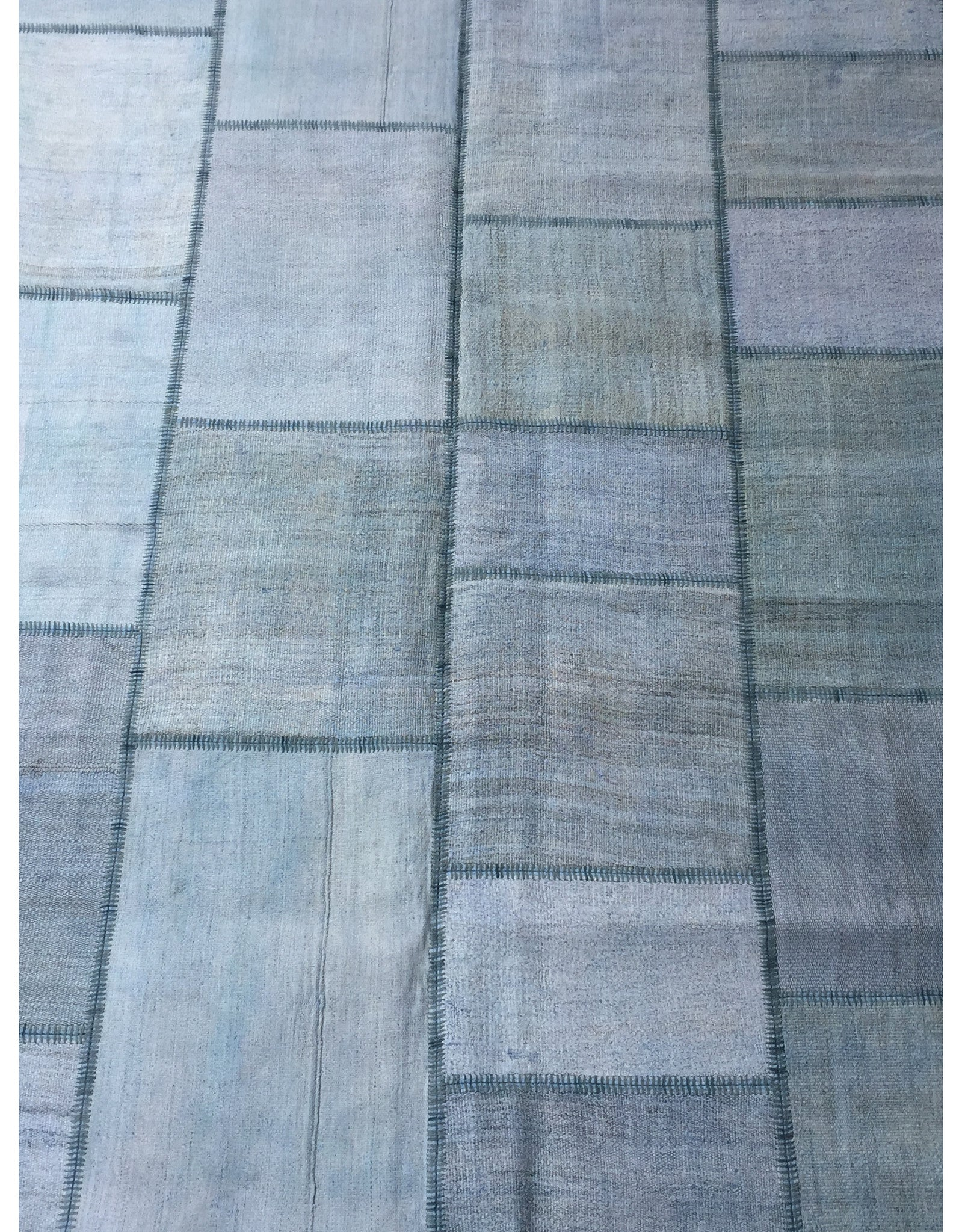 "Patchwork Rug - 177 (6ft 6.74"" x 9ft 10.11"")"