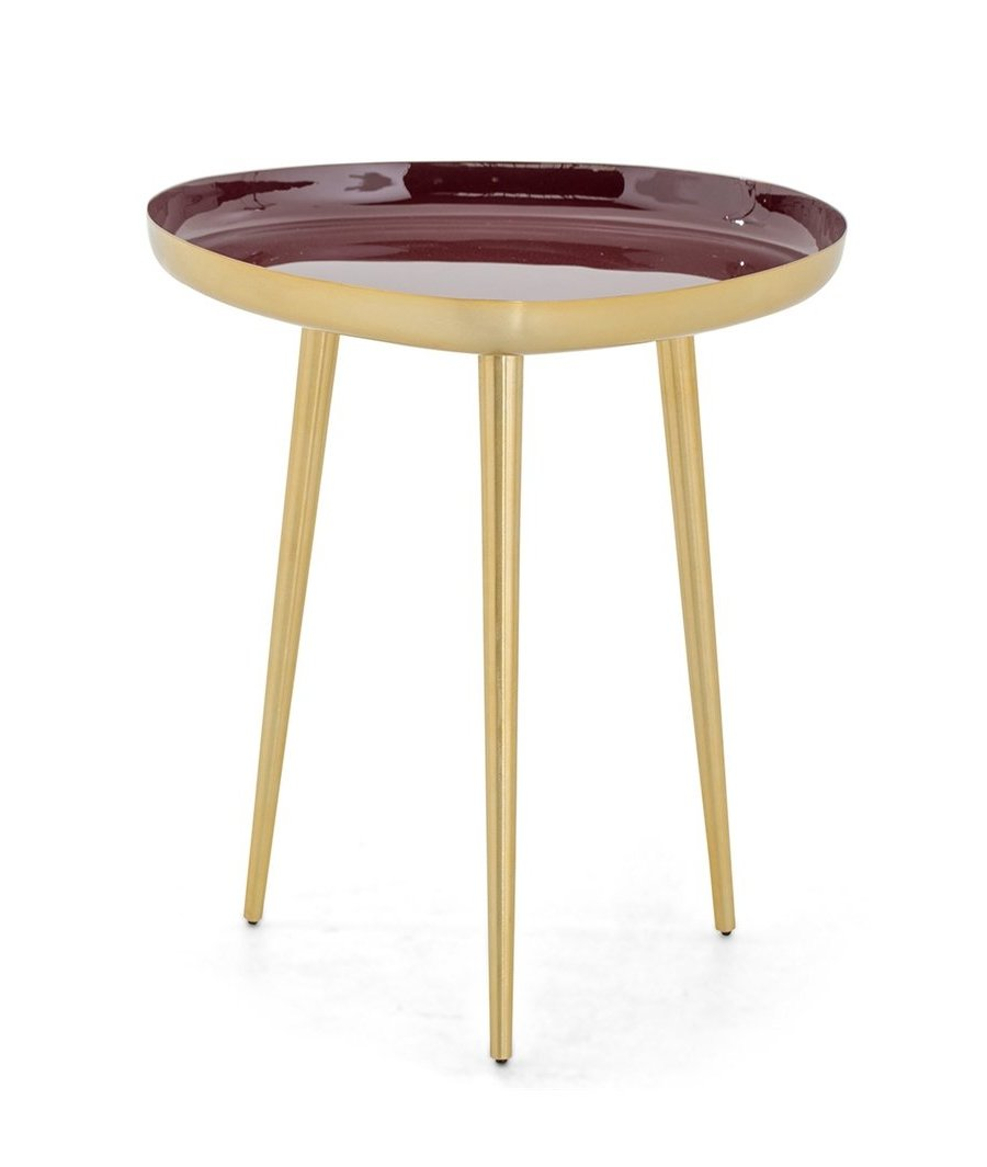Side Table Tousy Red L