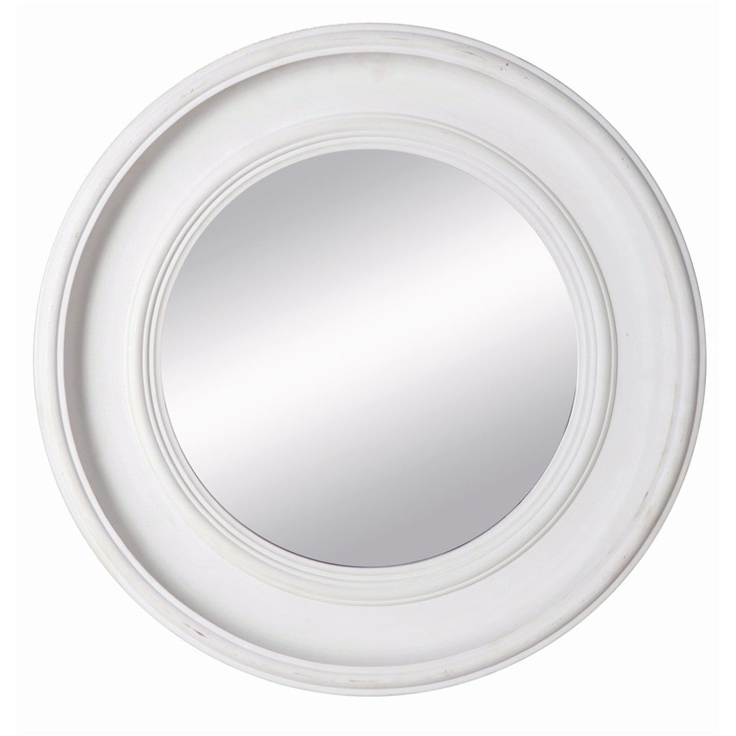 Mirror Julia Antique White 43,5Cm