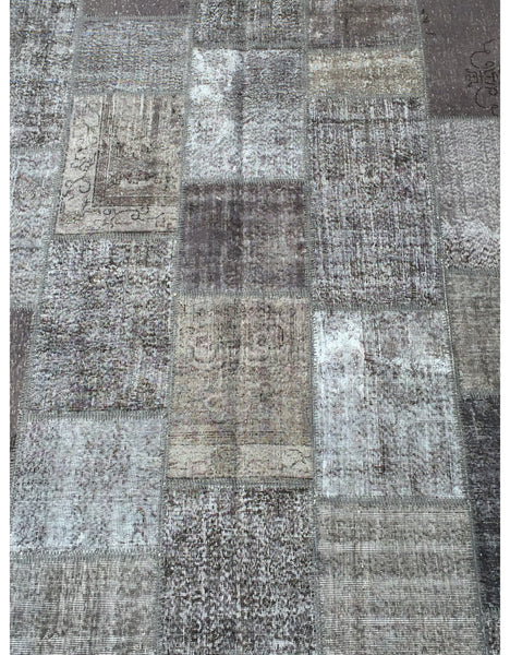 "Patchwork Rug - 92 (6ft 6.74"" x 9ft 10.11"")"