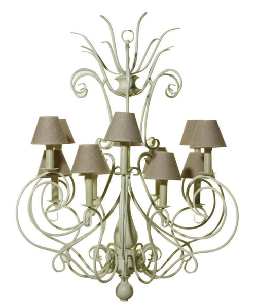 Chandelier Ladezza Antique White