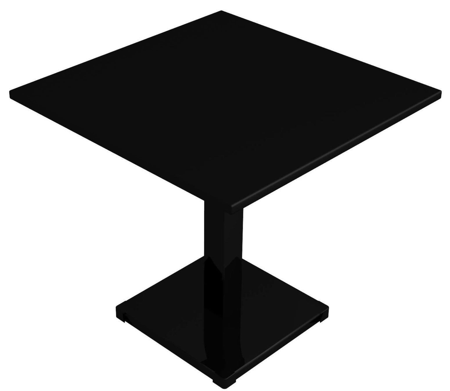 Conrad Table, one leg, 80x80