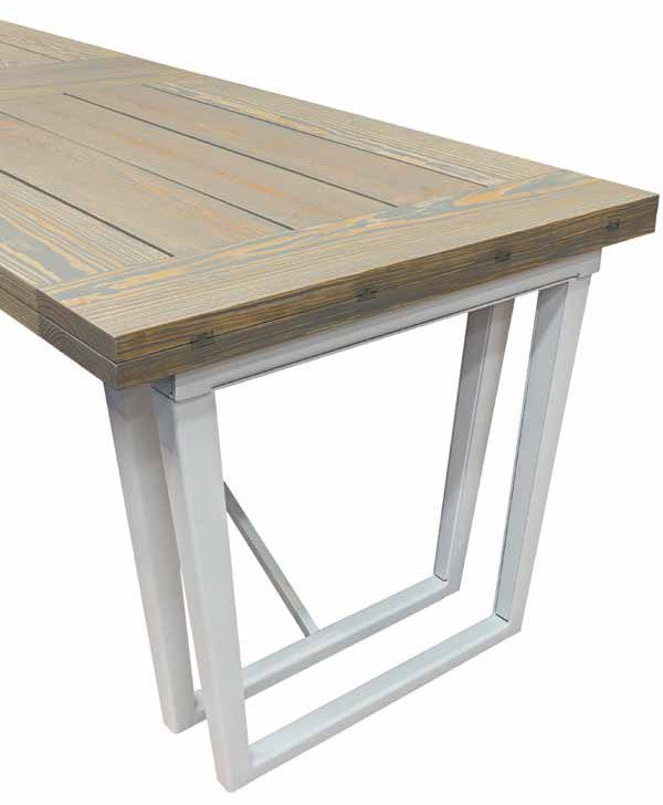 Durban table rectangular extendable