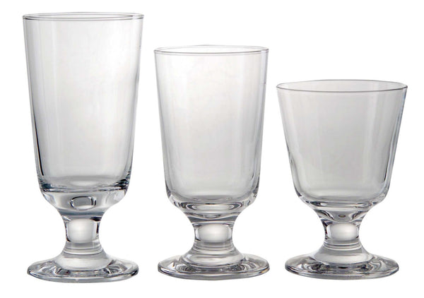 Set of 6 Glass Taverna Large Model 15,5Cm S/6