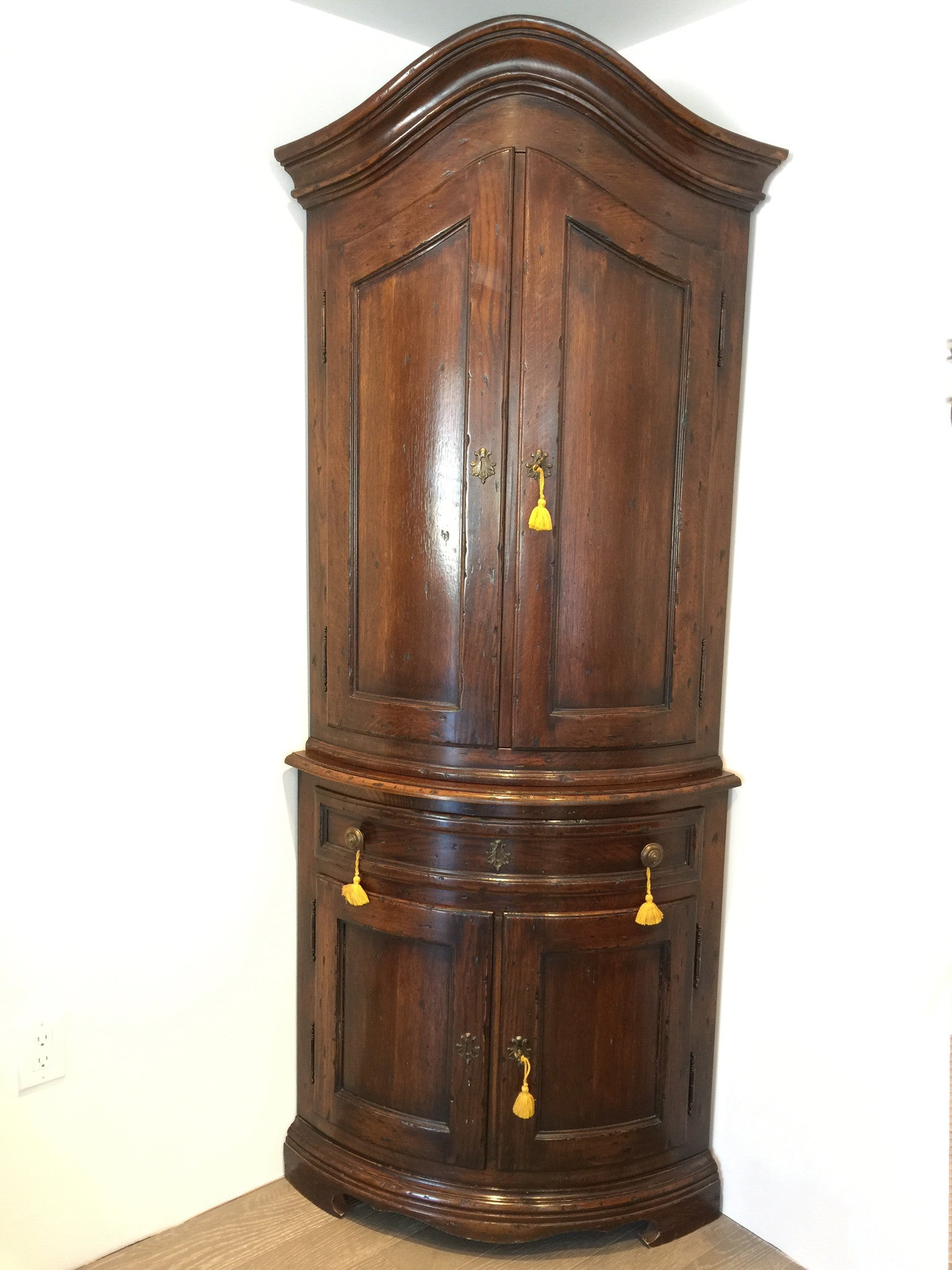 Dutch Corner Cupboard