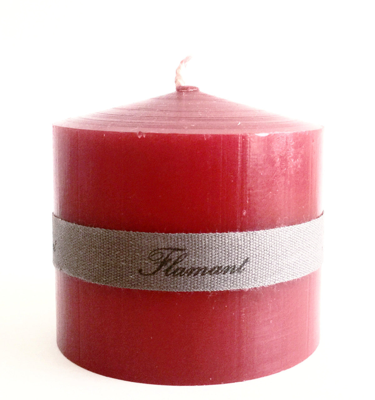 Candle Elise Christmas Red 7X7